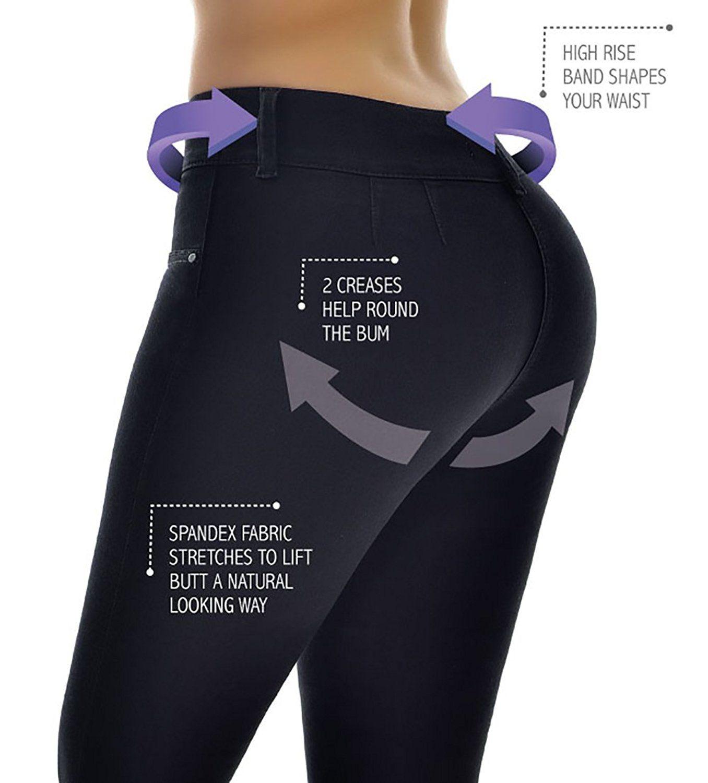 80b913bae4a Curvify Butt Lifting Wonder Jean with Secret Internal Waist Cincher (5 for  39