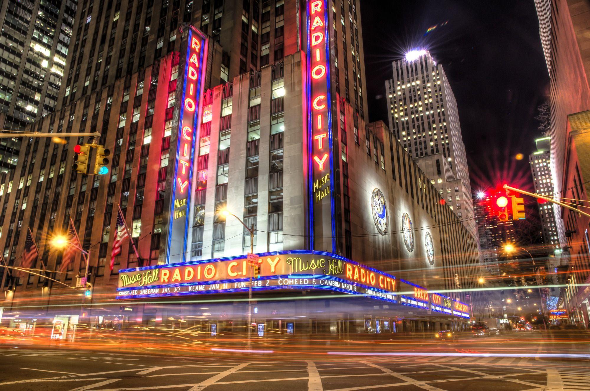 Radio City New York Wallsauce Us Radio City Radio City Music Hall Radio