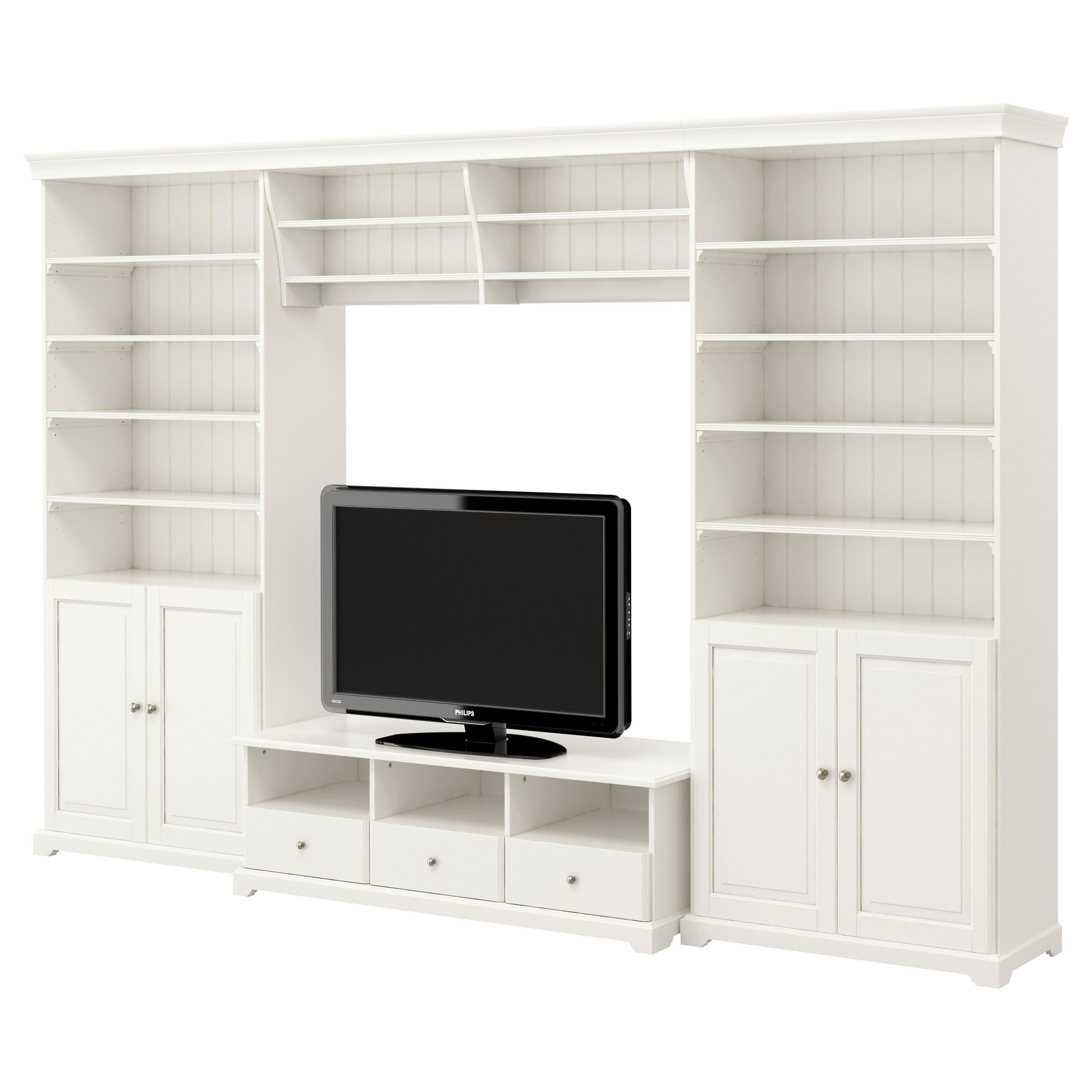 LIATORP Storage TV Bench