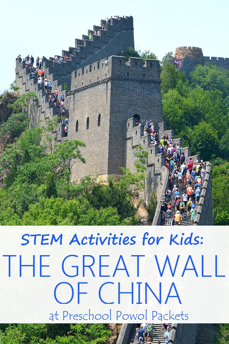 STEM Activities for Kids: Great Wall of China Challenge   Stem ...