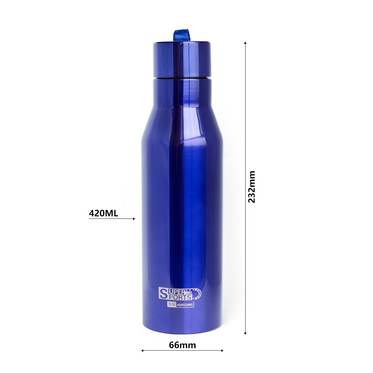 Stainless Steel Water Insulation Bottle Travel Outdoor Camping Hiking Cycling
