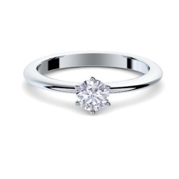 Verlobungsringe Verlobungsring Modern Silber 925 Inkl Etui Gravur