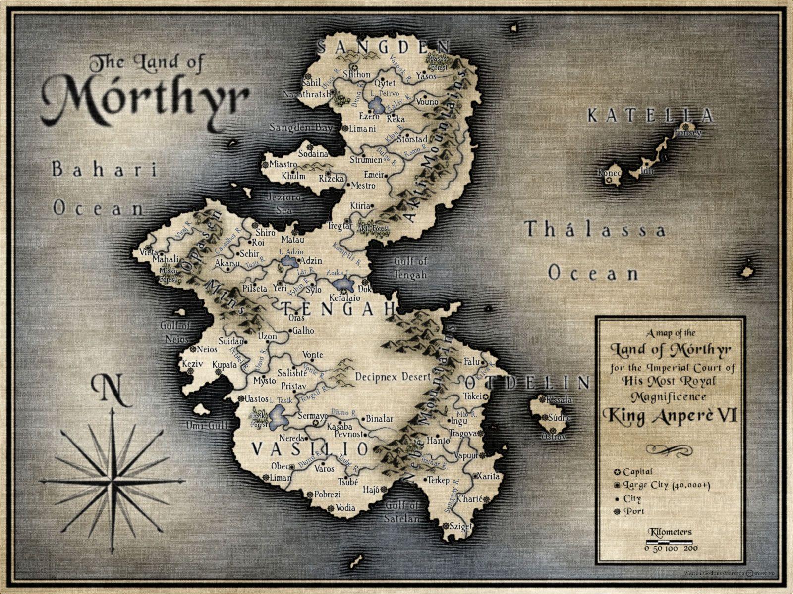 The Land of Mórthyr, by Warren Godone-Maresca