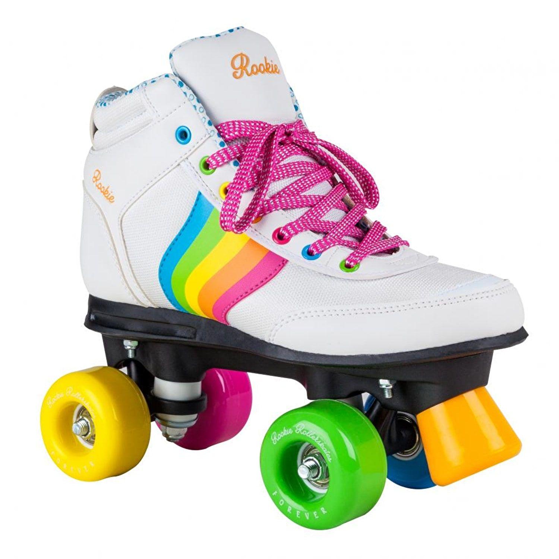 Rookie Rollerskates Forever Rainbow V2 Black//Multi
