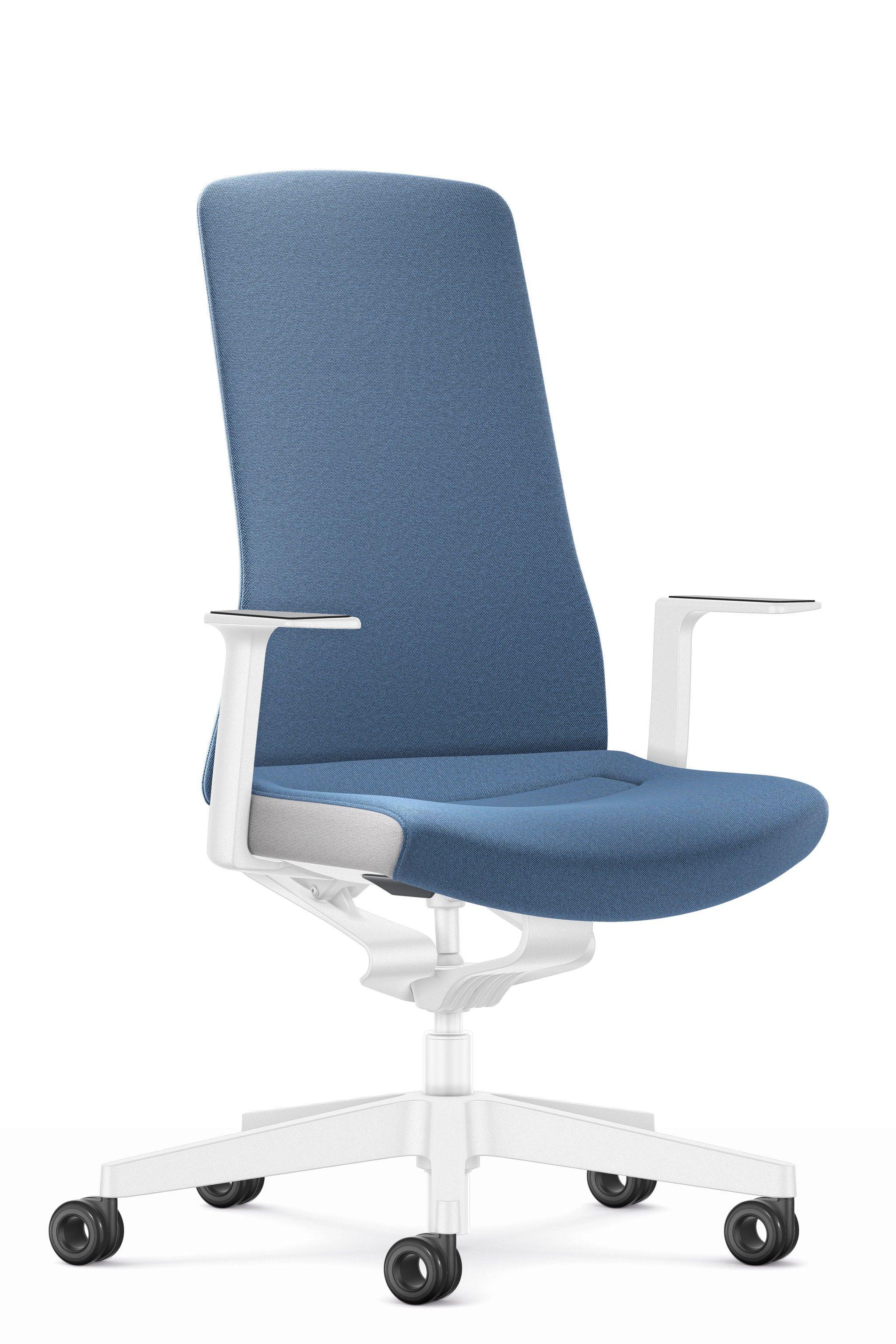 Schreibtischstuhl Blau Weiss Pure Interior Edition Burostuhl Schreibtischstuhl Von Interstuhl Burostuhl Home Office Ergonomisches Sitzen