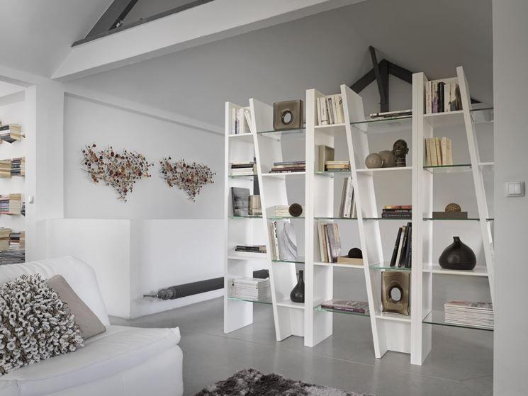 Risultati immagini per librerie divisorie librerie for Ambienti interni moderni