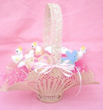 Free Crochet Easter Basket Patterns   crochet videos for easter baskets