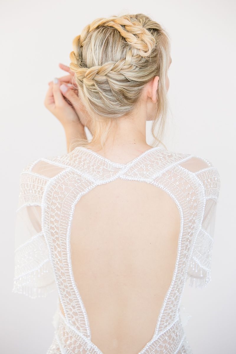 crown braid {pretty} | wedding bells | Pinterest | Crown braids ...