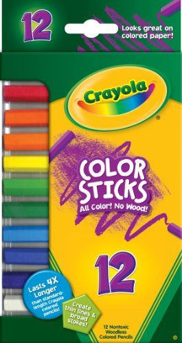 Crayola 12ct Color Sticks Crayola Colored Pencils Colored
