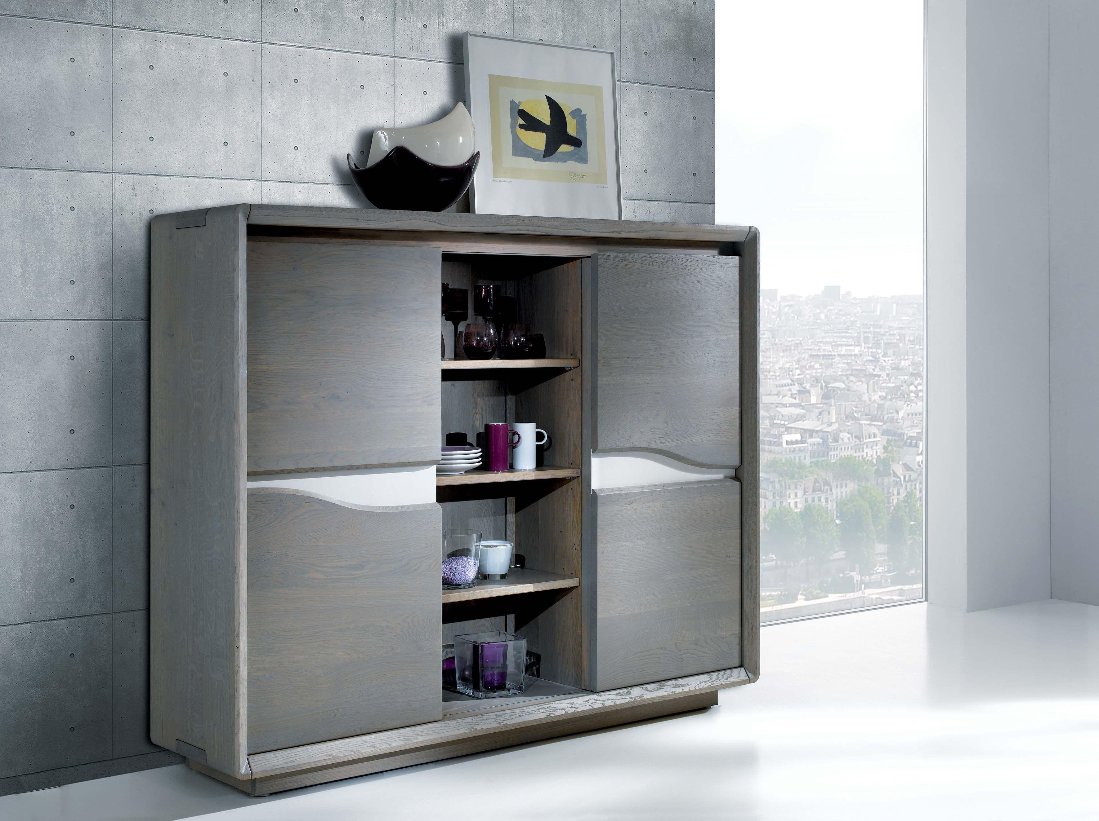 Sejour Ceram Meuble D Appui 2 Portes Coulissantes Largeur 155 Cm Hauteur 128 Cm Profondeur 40 Cm Bathroom Medicine Cabinet Home Home Decor