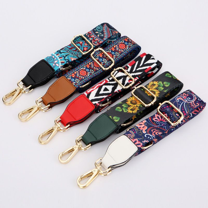 Fashion Shoulder Straps For Handbags Women Bag Belt Accessories Erfly Print Canvas Leather Strap Yesterday S Price Us 12 99 10 68 Eur