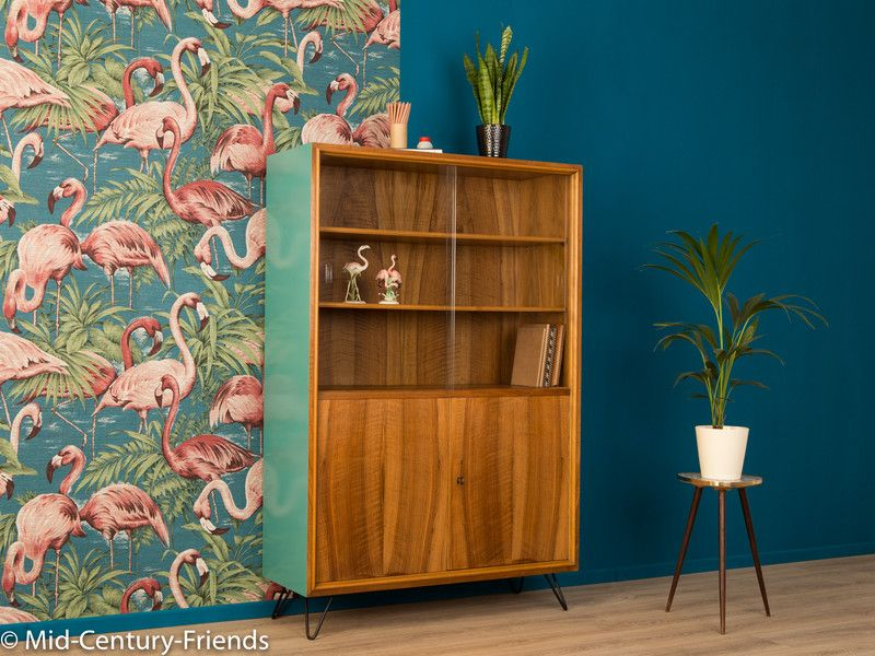vintage kommoden 50er vitrine 60er kommode vintage ein designerst ck von mid century. Black Bedroom Furniture Sets. Home Design Ideas
