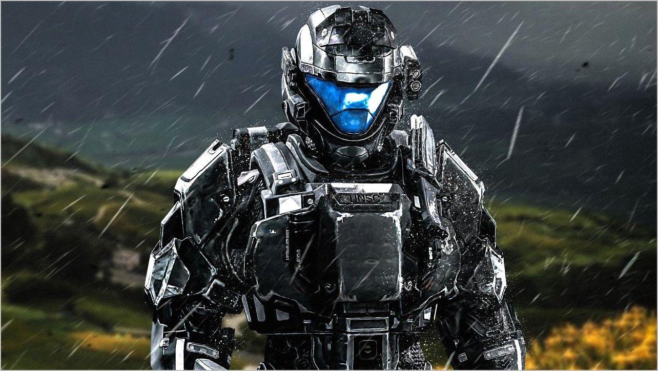 Halko 3 Odst 4k Wallpaper In 2020 Halo 3 Odst Halo Armor Soldier