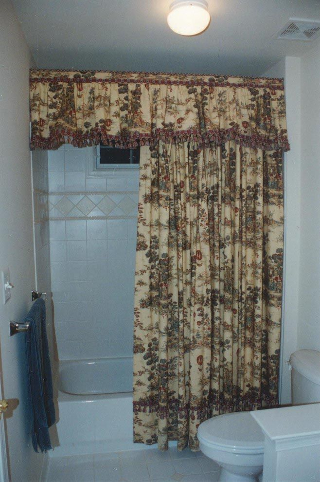 Country Shower Curtains With Valance Window Treatments In 2018