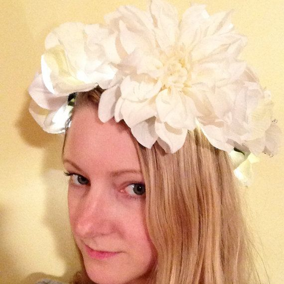 A Special Edition of Signature Illuminated Flower Crowns only available from CuriositiesByC!