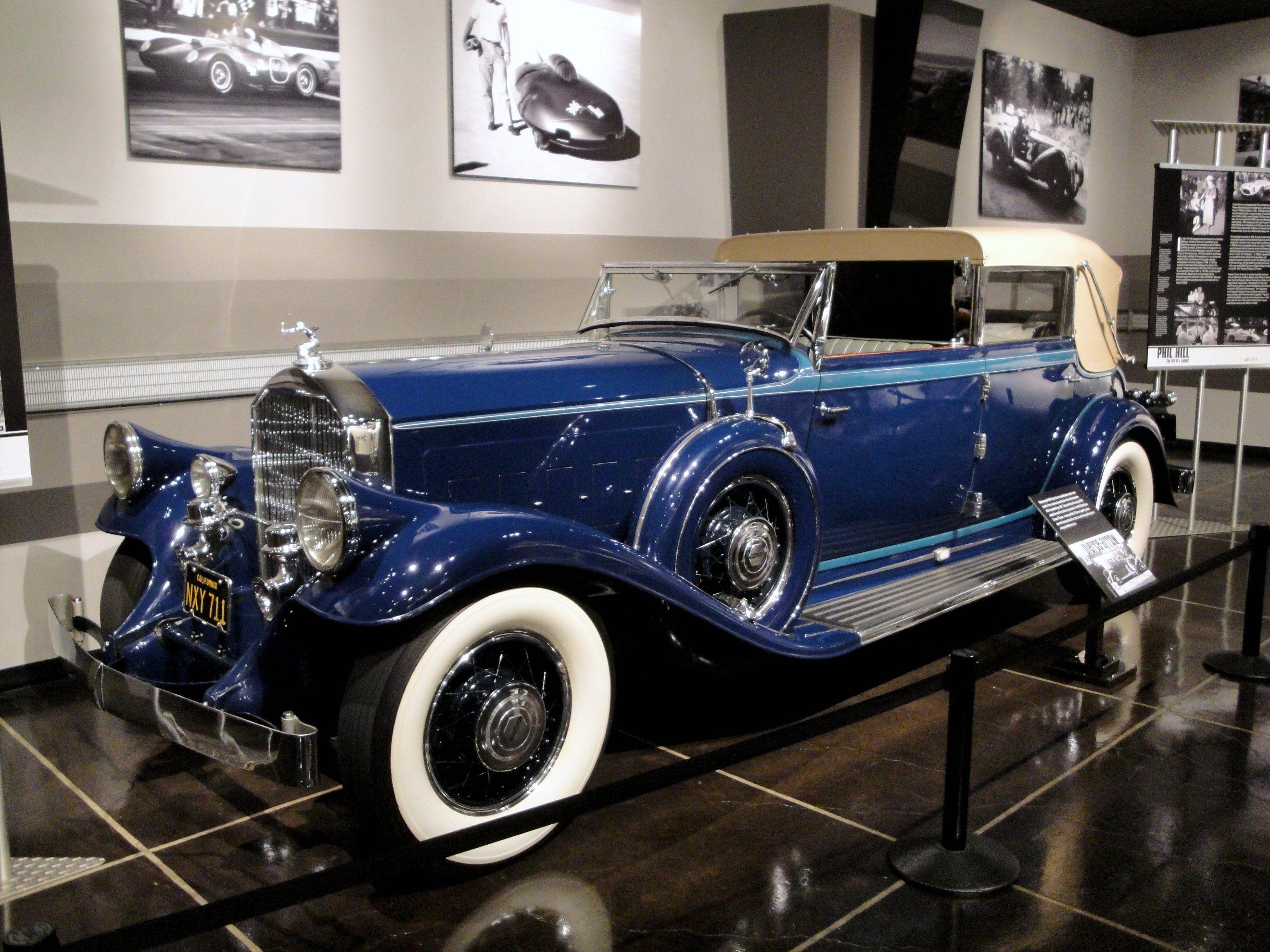 1931 Pierce-Arrow with body by LeBaron. A classic car ... | sick ...