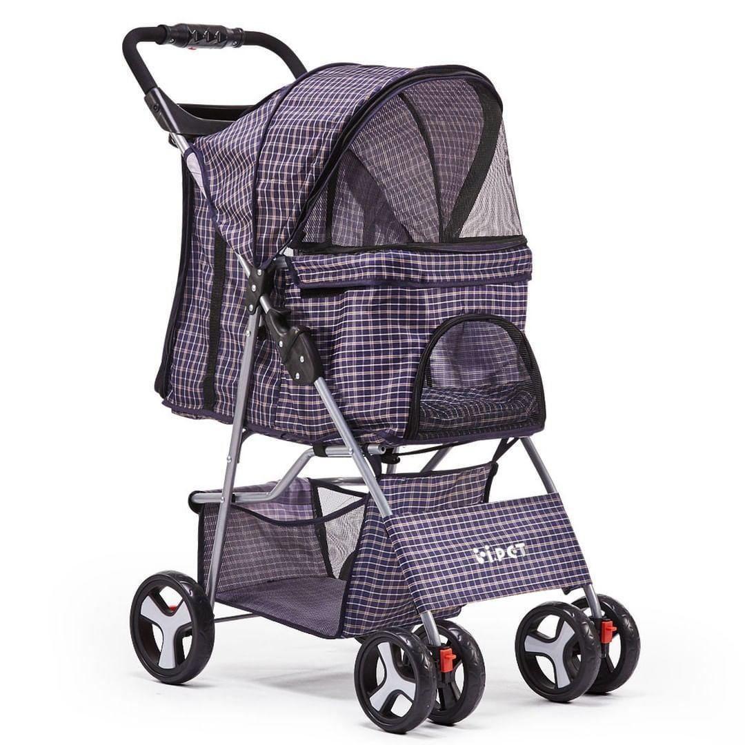 burn3208 posted to Instagram Pet 4 Wheel Pet Stroller