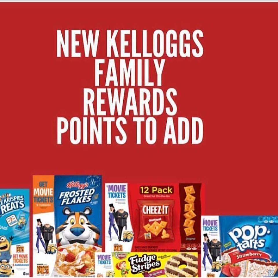 150 free kelloggs family reward points add now http simplesavingsforatlmoms