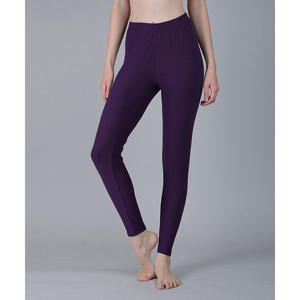 azalea purple leggings ($13) ❤ liked on polyvore featuring plus