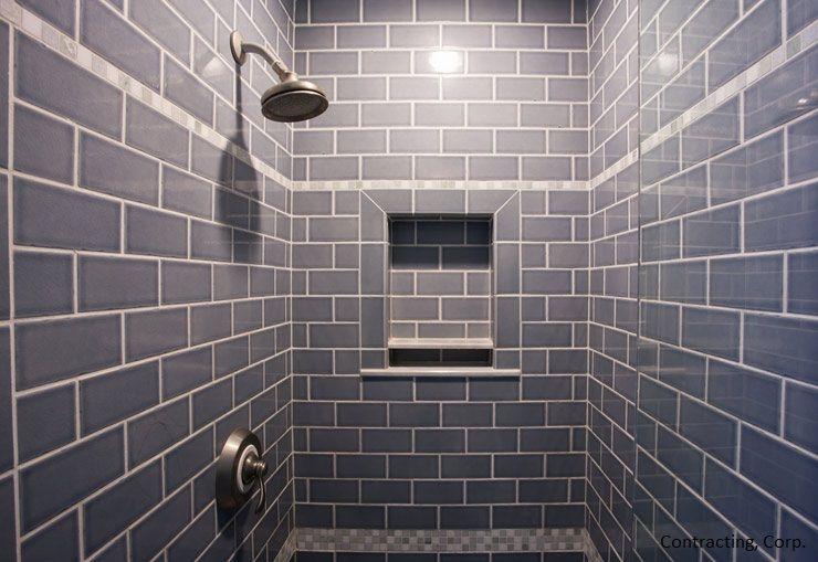 Average Cost Of Retiling A Shower Shower Re Tile Cost Per Sq Foot Tile Bathroom Shower Tile Shower Wall Tile