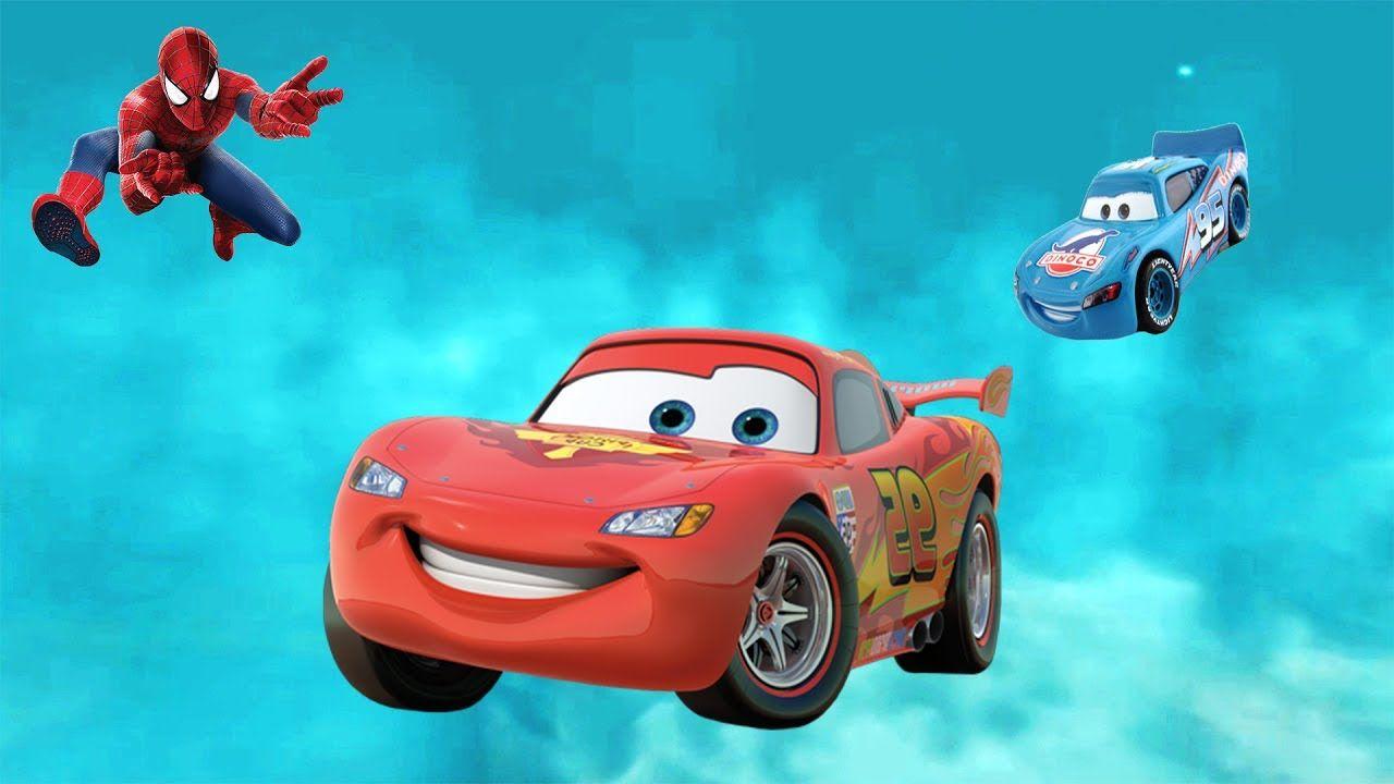 Disney Cars Lightning Mcqueen Flying