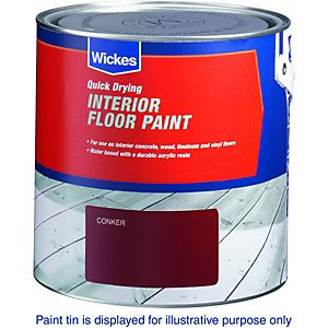 Wickes Interior Floor Paint White 2 5l Wickes Co Uk With Images