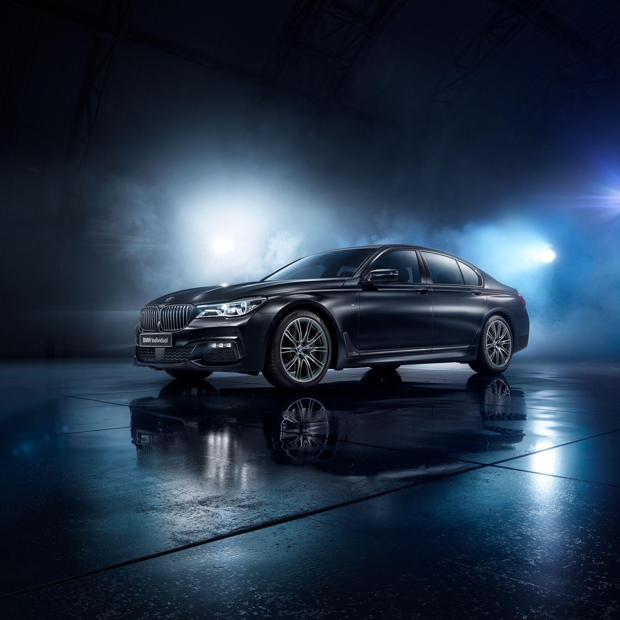Wallpaper Bmw 7 Series Black Ice Edition 2017 4k: Ознакомьтесь с этим проектом @Behance: «BMW 7 BLACK ICE