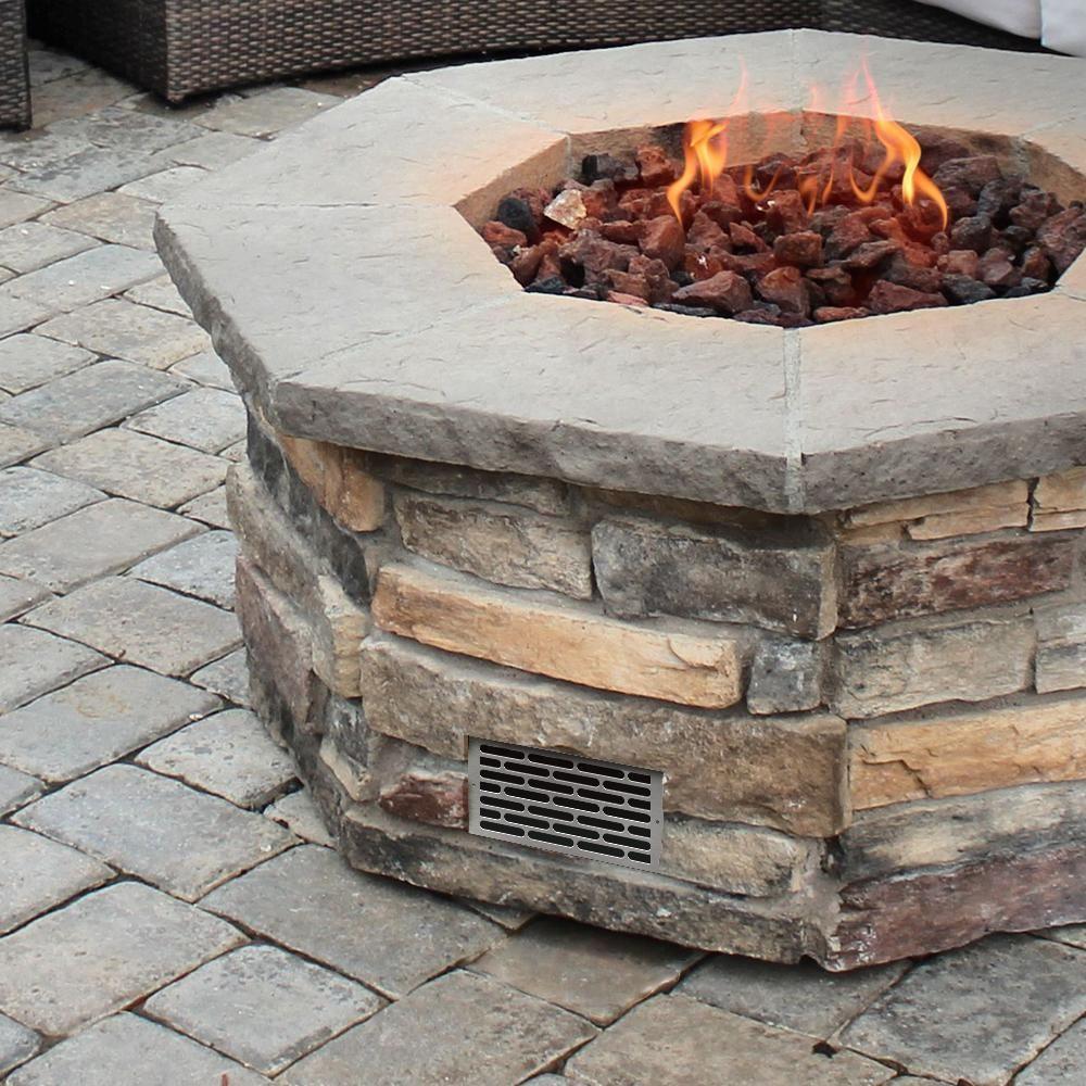 Starfire Designs Decorative Fire Pit Venting Panel With Images Outdoor Pergola Pergola Pergola Designs