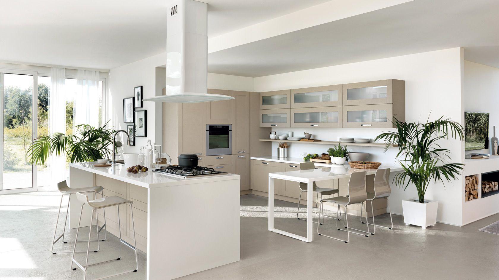 Cucina Open | Sito ufficiale Scavolini | Cucine Contemporanee ...