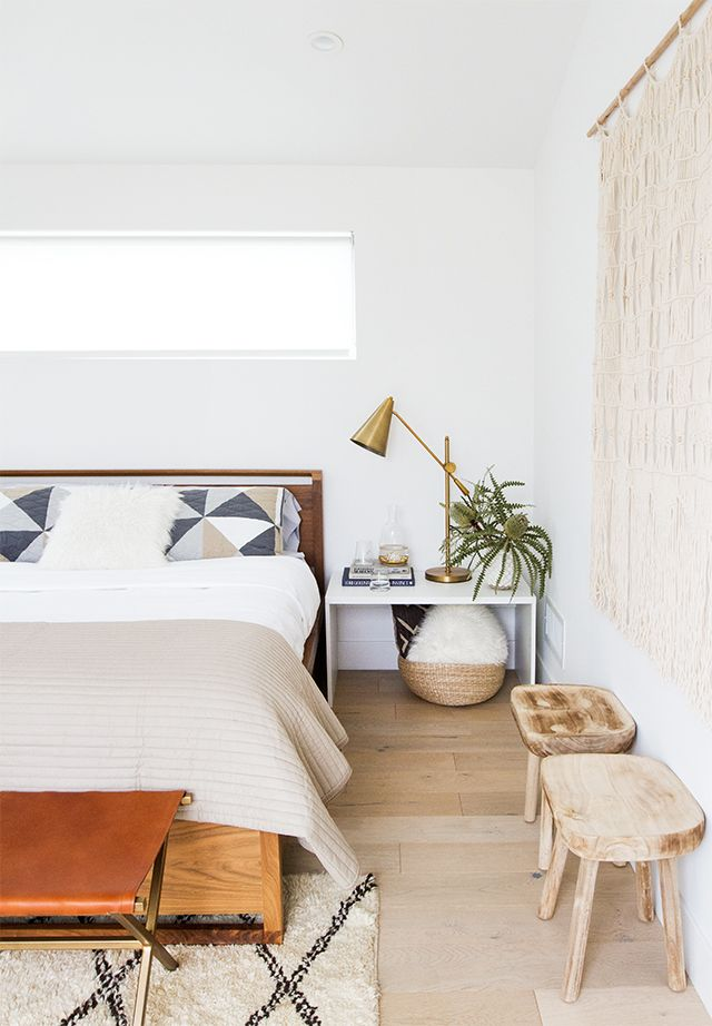 modern organic bedroom makeover #minimalbedroom