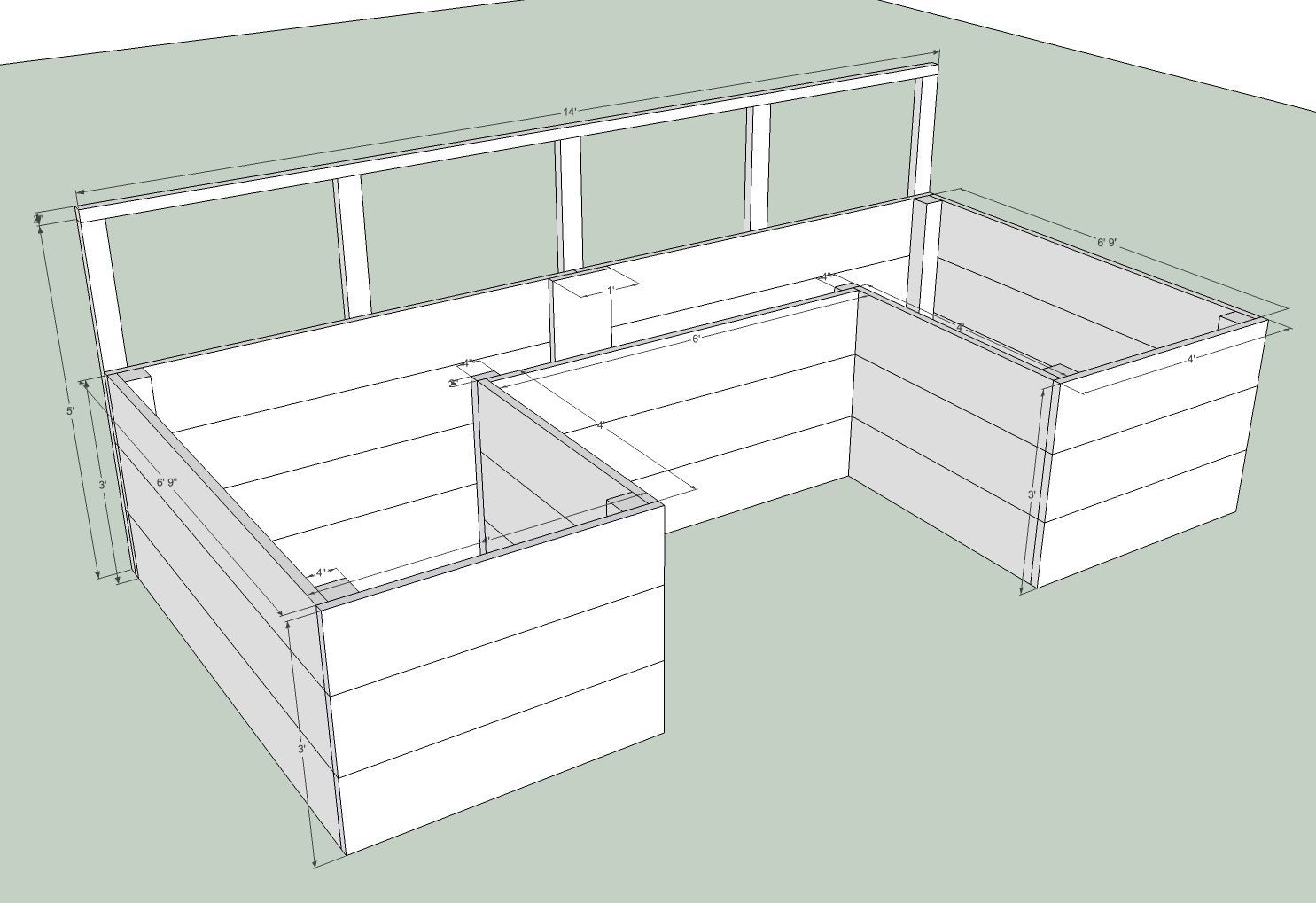 Tall Raised Bed Garden Plans Ana White Build A Dynamic 400 x 300