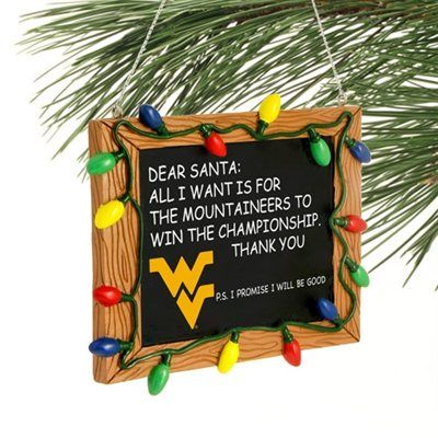 West Virginia Mountaineers Chalkboard Sign Ornament Red Socks Gifts Chalkboard Ornament Red Sox Baby