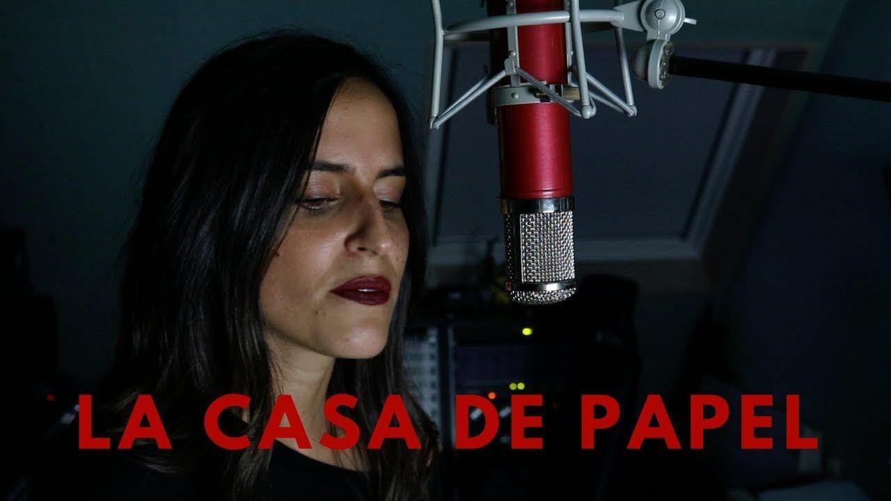 La Casa De Papel My Life Is Going On Spanish Cover Singer Spanish Life