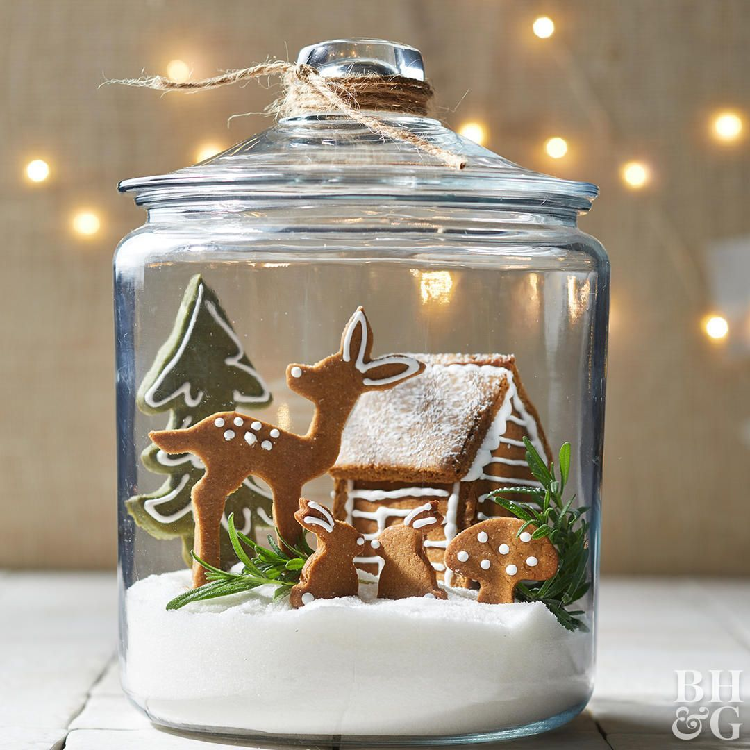 Photo of 4 Clever Ways to Turn Gingerbread Cookies into a Woodland Wonderland #gingerbrea…