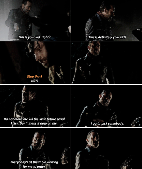 Negan 6x16 Last Day On Earth Walking Dead Quotes Walking Dead Memes Walking Dead Series