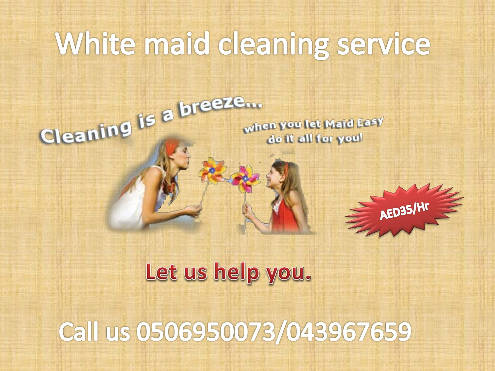 need cleaning service