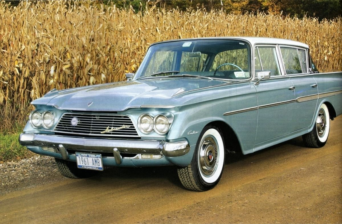 1961 Rambler Ambassador With Images Vintage Muscle Cars Vintage Cars Classic Chevrolet