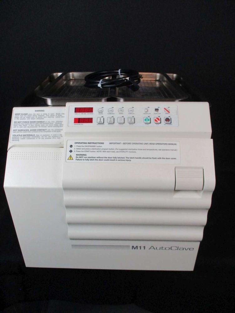 midmark m11 dental autoclave sterilizer w 1 year warranty rh pinterest com midmark m11 ultraclave instruction manual Ritter M11