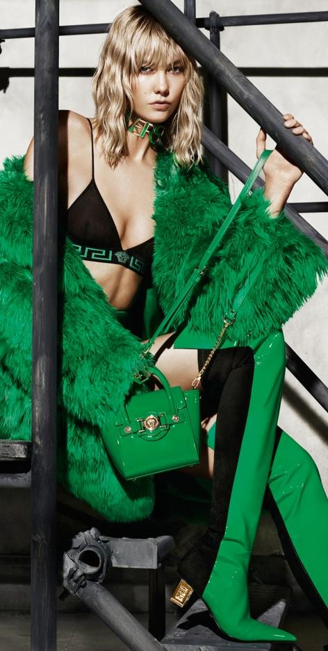 Versace   GREEN LADY S...   Pinterest ca6326b4ff
