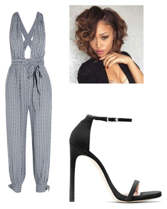 """""""Untitled #265"""" by lakesheia ❤ liked on Polyvore featuring Mara Hoffman and Stuart Weitzman"""