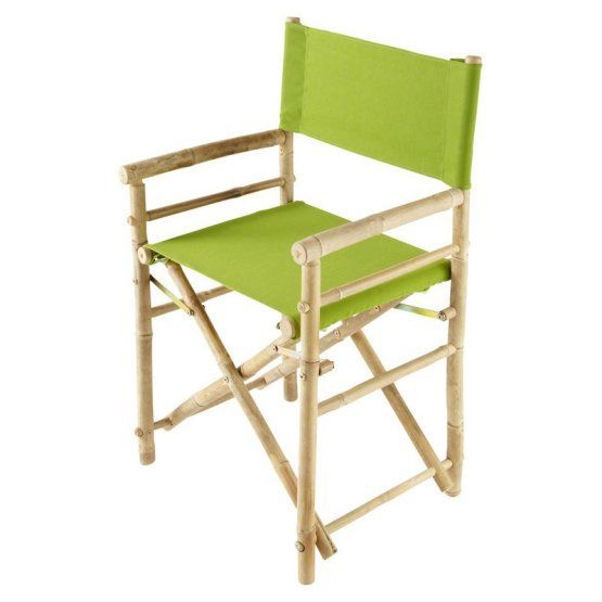 bamboo directors chairs office chair modern canvas cover set florida house indoor