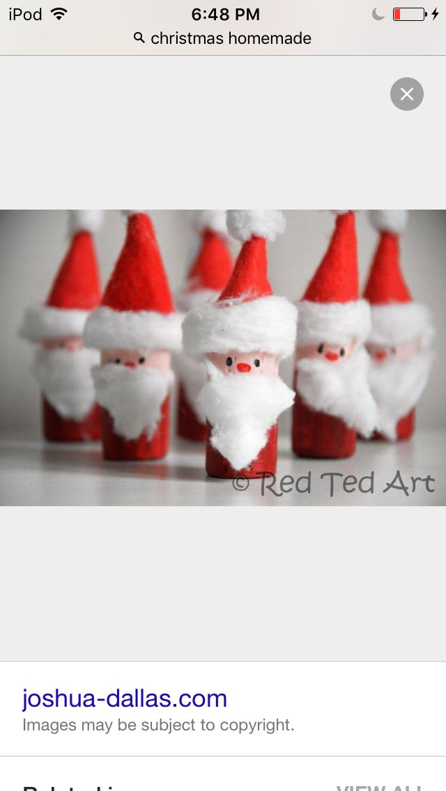 Fun and easy Santas!!! All that you need is a toilet paper roll paper paint and cotton balls!!