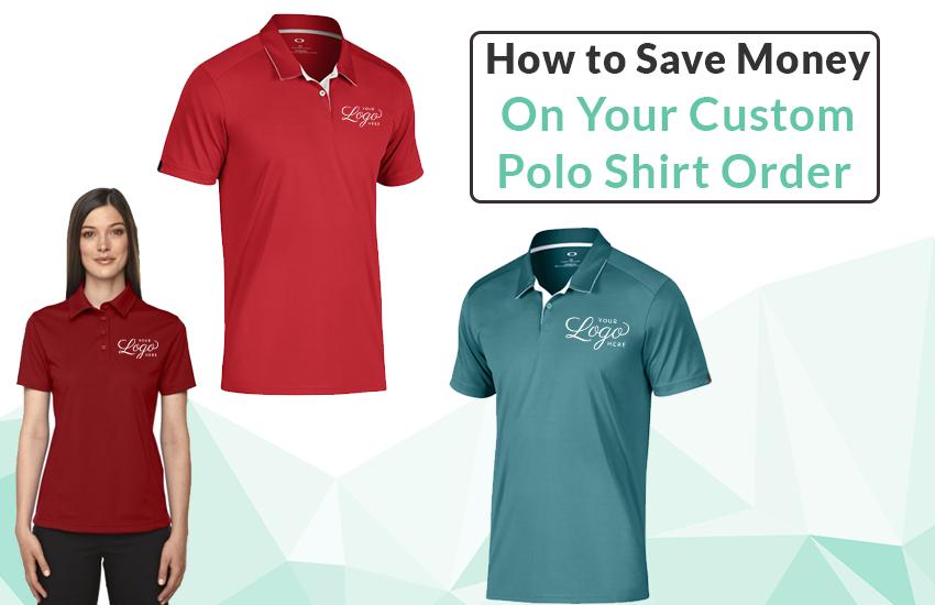 e8ea4f9b5 How to Save Money on Your Custom Polo Shirt Order Custom Screens, Custom  Screen Printing