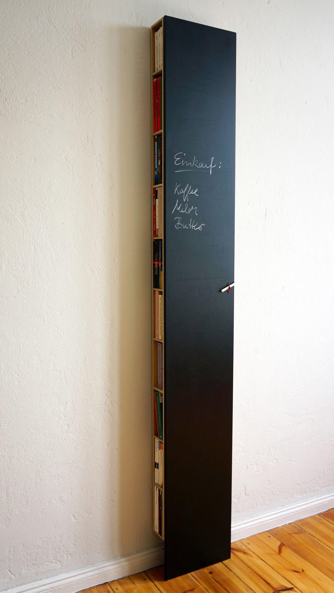 Bux Regal. Flaches Wandregal, das Kochbücher, CDs und vieles ...
