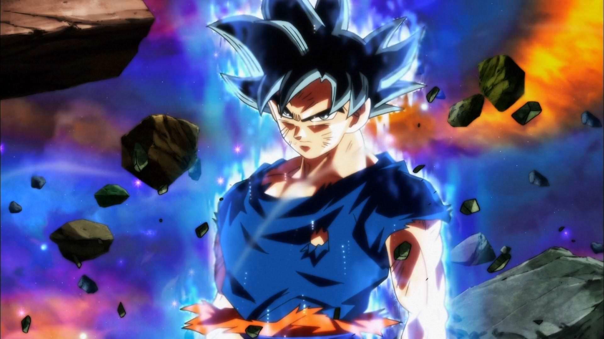 Made A Wallpaper Of Ultra Instinct Goku For Y All 1920x1080 Dragon Ball Super Goku Dragon Ball Dragon Ball Super
