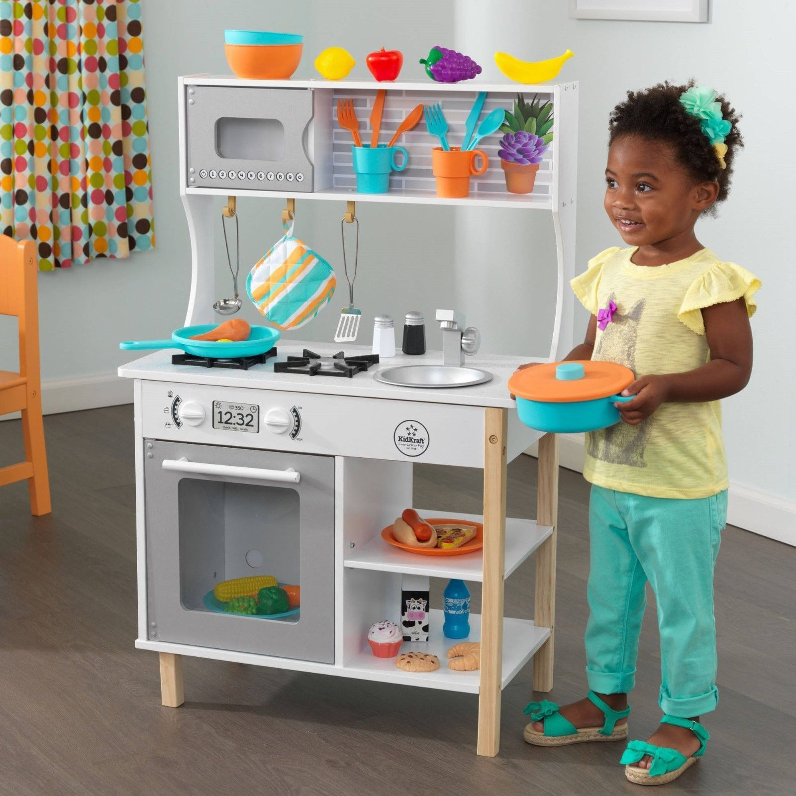 Kitchens large in kids toy wooden kitchen toy cooking