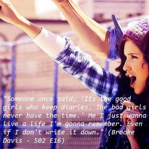 Not Another Fashion Blog *: /quotes: One Tree Hill #5/ | quotes ...