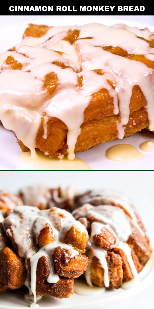 Cinnamon Roll Monkey Bread Recipe images