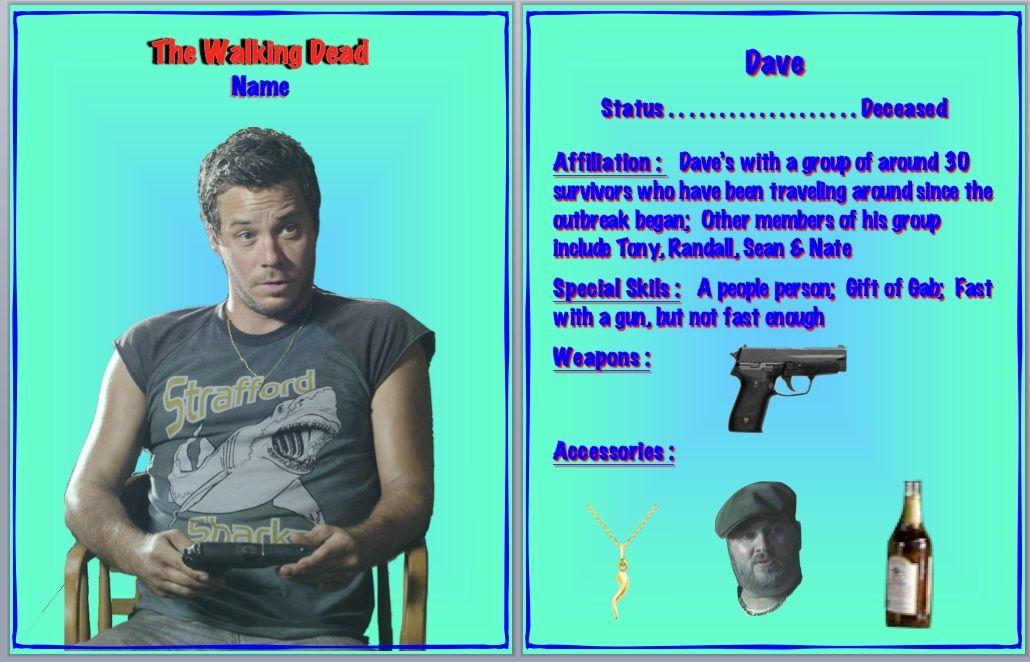 Twd Dave From Philadelphia