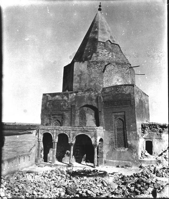Pin By Yasa Hasanpour On History Of Kurdestan: ضريح الأمام يحي بن القاسم / الموصل من أرشيف المس بل 1909